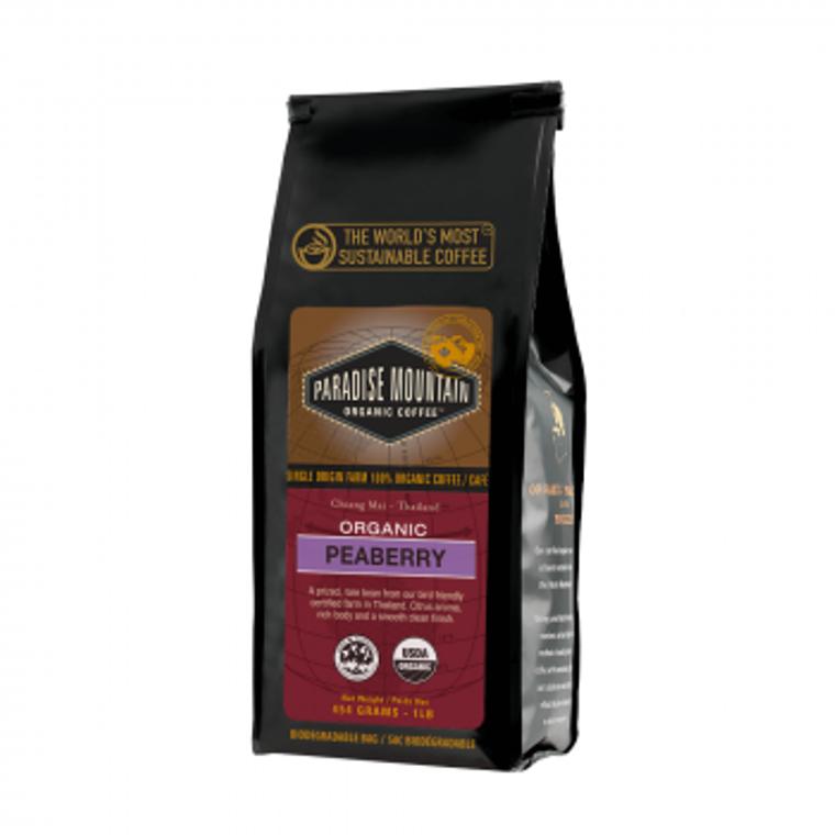 Paradise Mountain Organic Peaberry coffee
