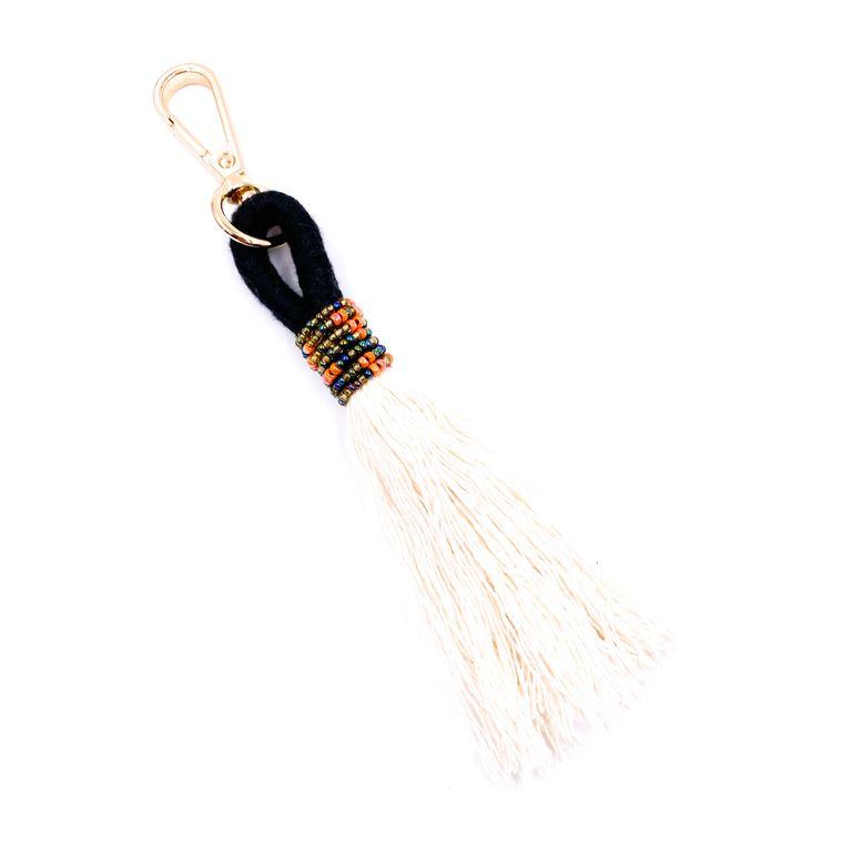 Handbag/Keychain Tassel - Tahiti (Black)
