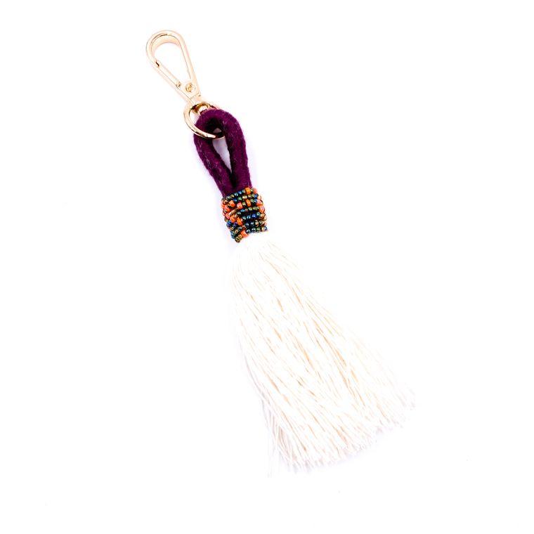 Handbag/Keychain Tassel - Tahiti (Purple)