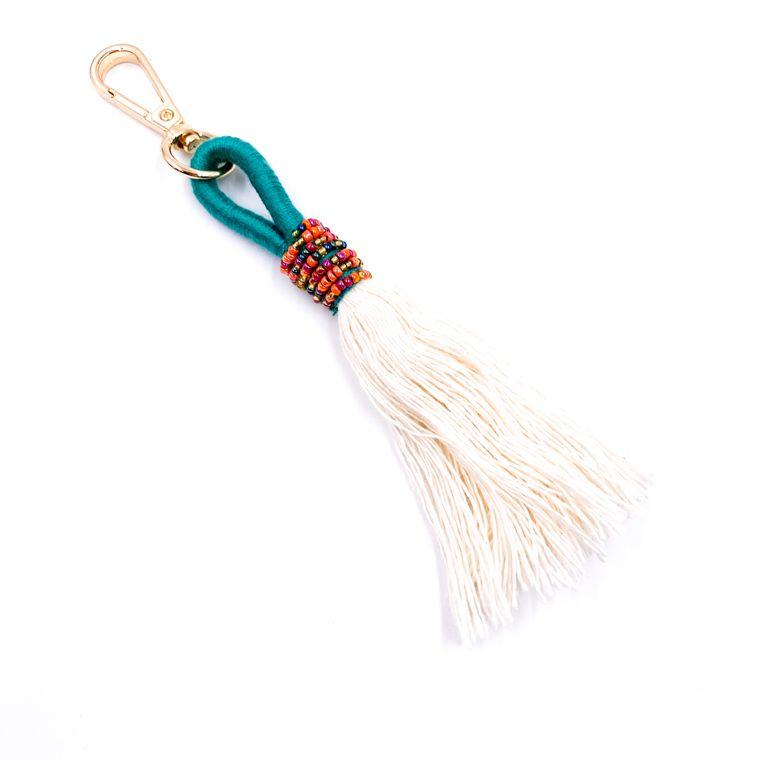 Handbag/Keychain Tassel - Tahiti (Turquoise)