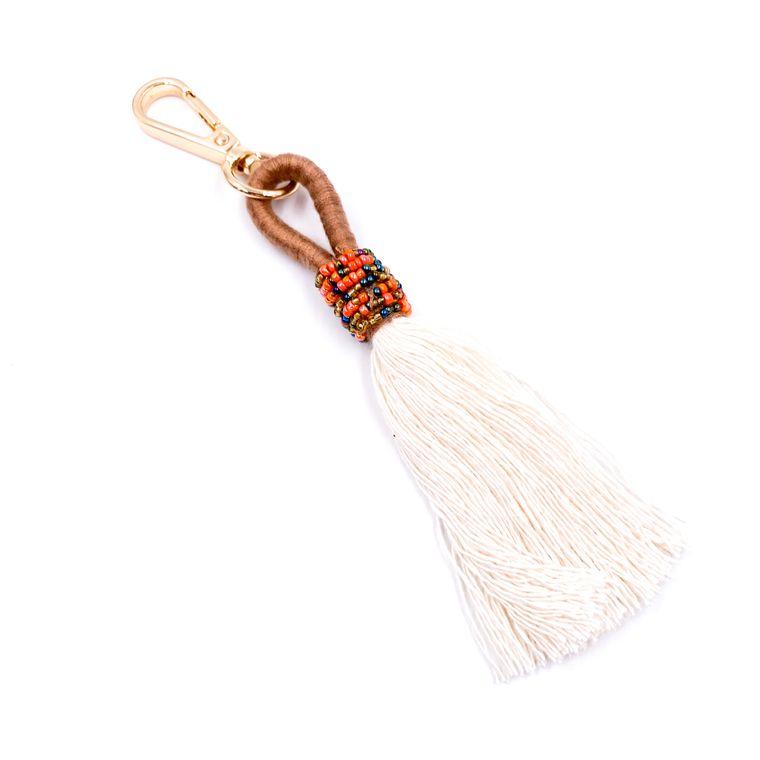 Handbag/Keychain Tassel - Tahiti (Brown)