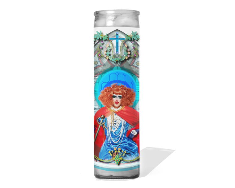 Crystal Methyd Celebrity Drag Queen Prayer Candle - RuPaul's Drag Race