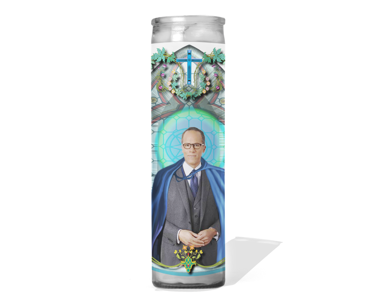 Lester Holt Celebrity Prayer Candle