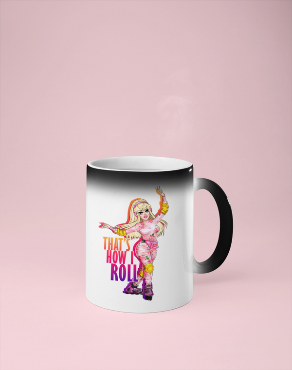 Trixie Mattel - That's How I Roll Color Changing Mug - Reveals Secret Message w/ Hot Water - RuPaul's Drag Race