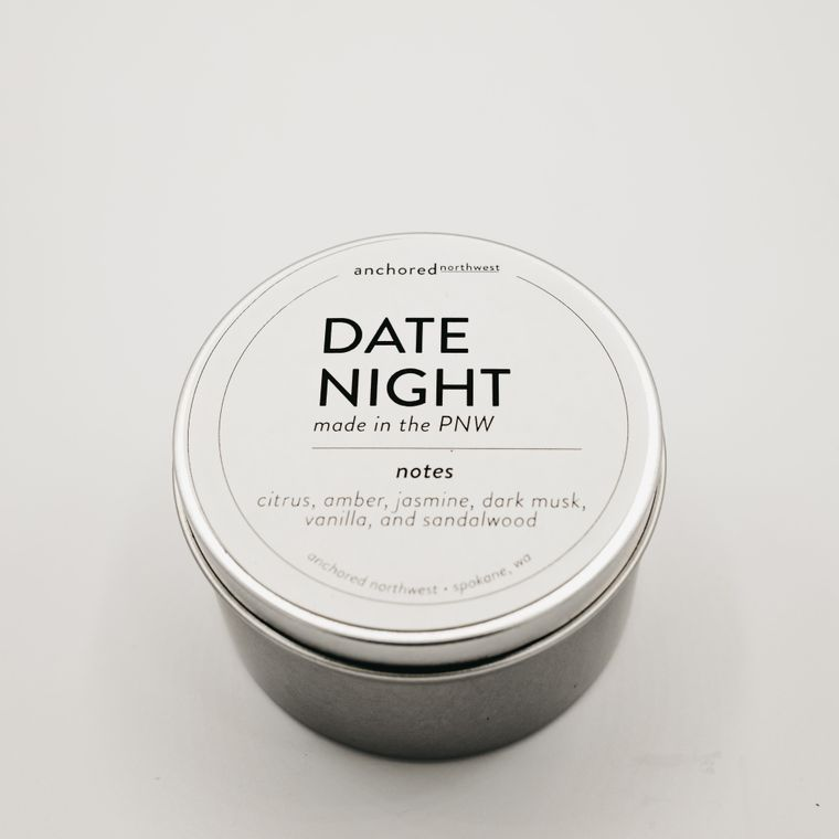 Date Night - Travel Tin Soy Candle