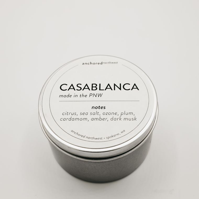 Casablanca - Travel Tin Soy Candle