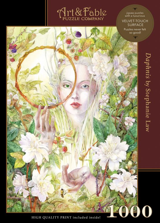 NEW! Daphnis; 1000-pc Velvet-Touch Jigsaw Puzzle by artist Stephanie Law