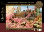 SHIPPING 7/1-7/5 The Roses of Heliogabalus; 1000-pc Velvet-Touch Puzzle by Sir Lawrence Alma-Tadema