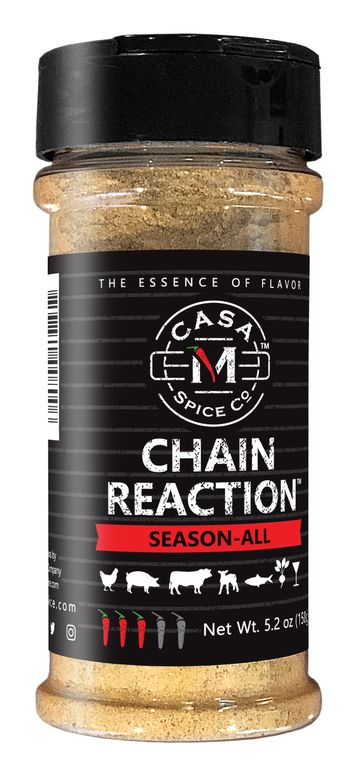 Casa M Spice Co® Chain Reaction® Season-All (Plastic Shaker)