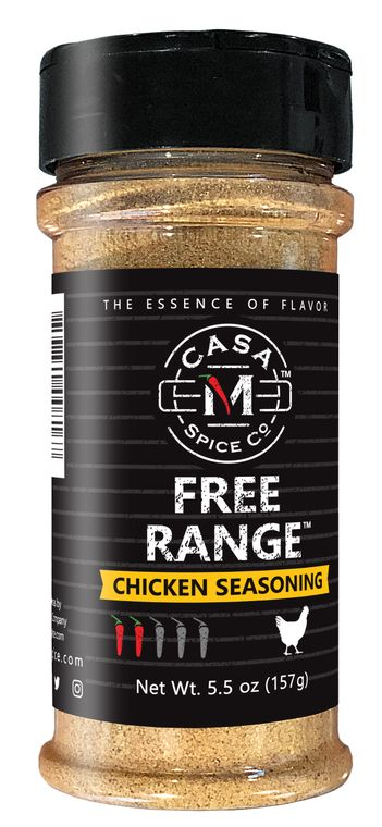 Casa M Spice Co® Free Range® Chicken Seasoning (Plastic Shaker)
