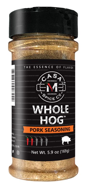 Casa M Spice Co® Whole Hog® Pork Seasoning (Plastic Shaker)