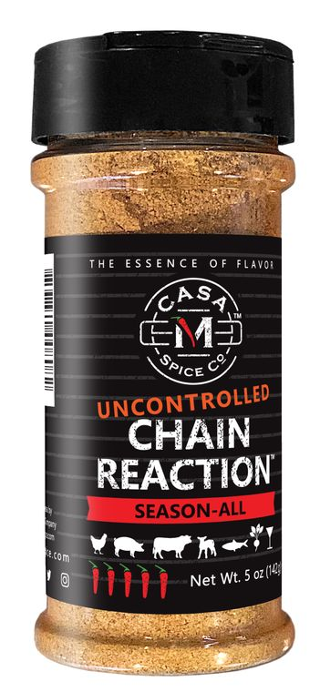 Casa M Spice Co® Uncontrolled Chain Reaction® Season-All (Plastic Shaker)