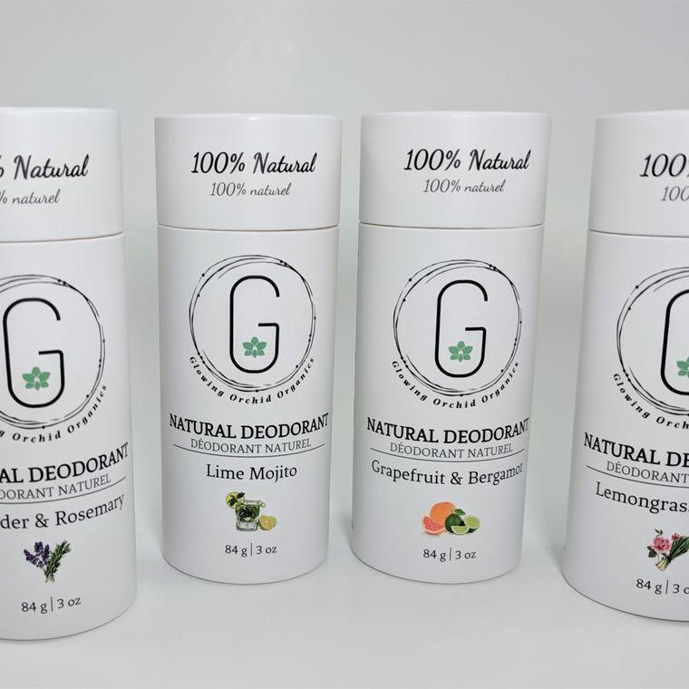 New Deodorant Tubes