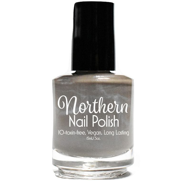 "Northern Nail Polish ""Sleeping Bear"" : Taupe Creme Toxin Free Vegan Nail Polish"