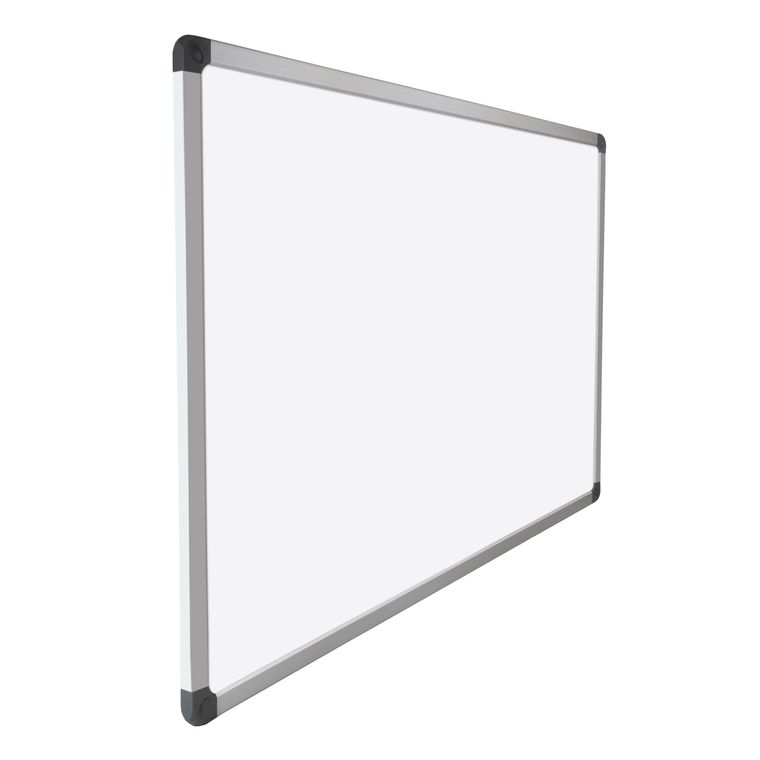 """V VAB-Pro Top Quality Melamine 24""""x36"""" Dry Erase White Board, 4 Corner mounting with Pen Tray"""