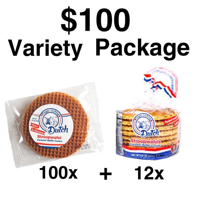Caramel Stroopwafels Variety Pack (Sale)