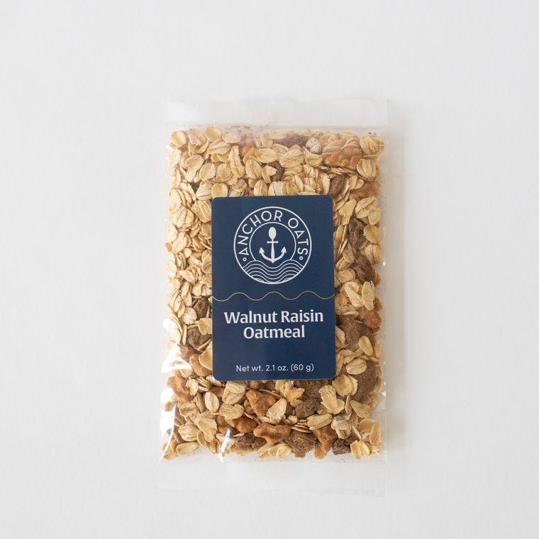 Walnut Raisin Oatmeal Single Serving | GF