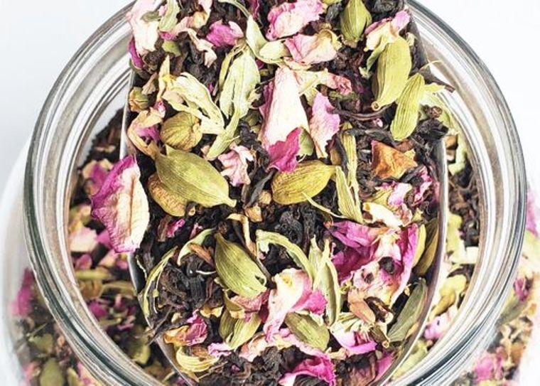 HILL STATION [Cardamom+Rose] TEA