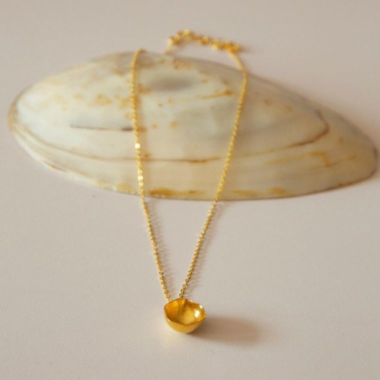 Handmade Dome Necklace