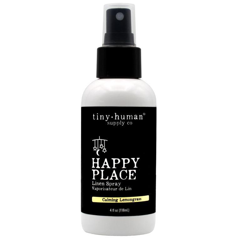 Happy Place™ Linen Spray 4oz - Calming Lemongrass