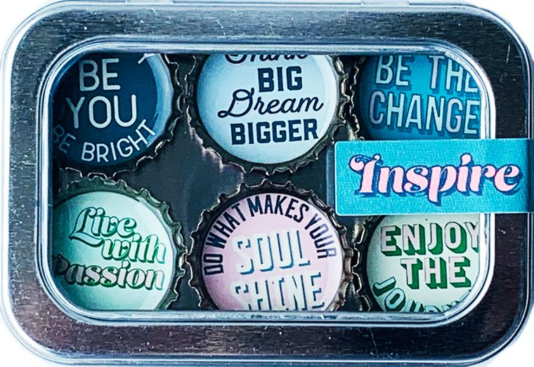 Inspire Magnet - Six Pack