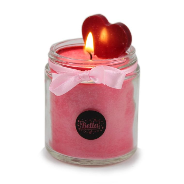My Sweet Love Soy Dessert Jar Candle- Black Cherry