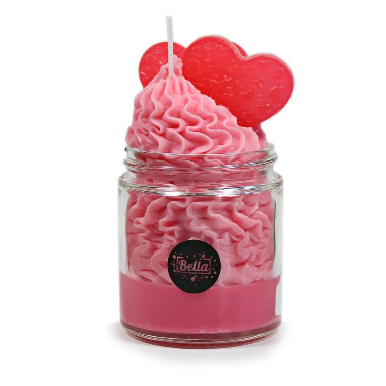 Waiting Game Soy Dessert Jar Love Candle- Black Cherry