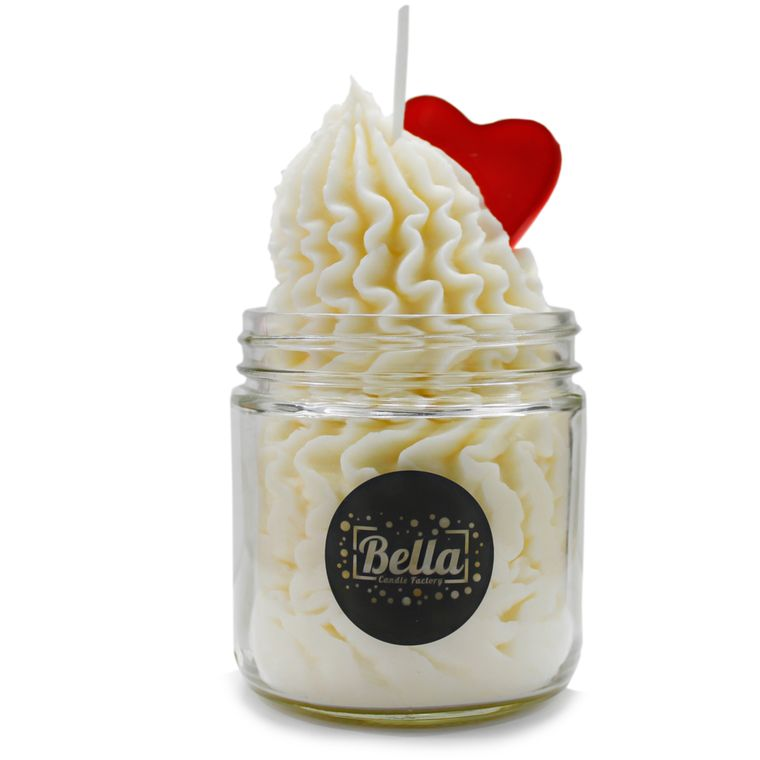 Love is fun Valentine's Scented Jar Candle - Vanilla scent