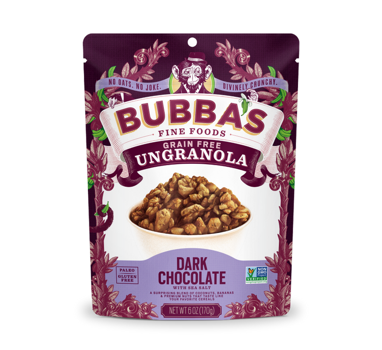 Grain Free Ungranola, Dark Chocolate with Sea Salt