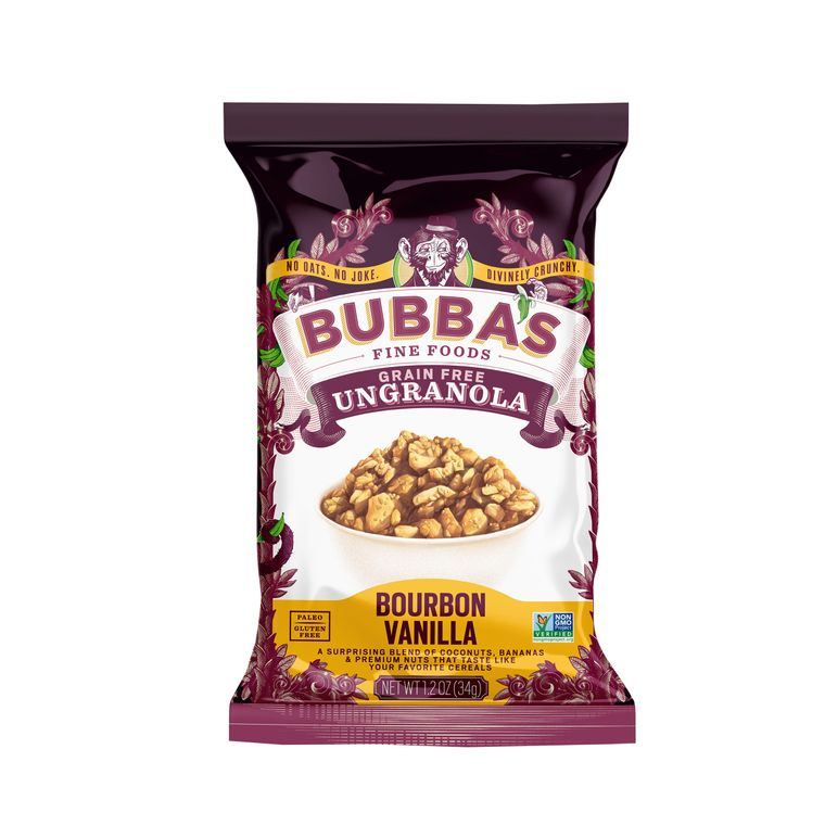 Grain Free Ungranola, Bourbon Vanilla, Single-Serve Caddie
