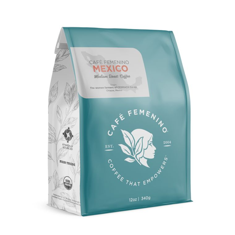 Café Femenino Mexico Chiapas Whole Bean Coffee