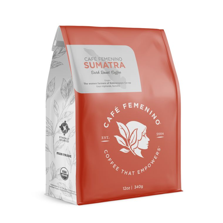 Café Femenino Sumatra Whole Bean Coffee