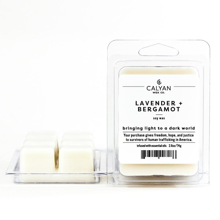 Soy Wax Melt - Lavender / Bergamot