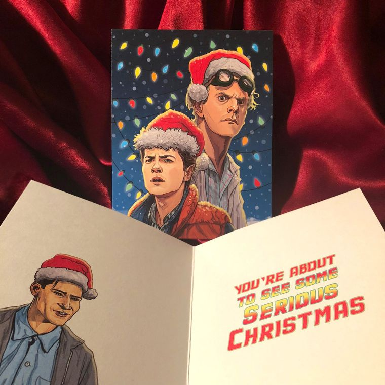 BACK to the FUTURE Christmas Card