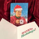 TOM HANKS Christmas Card