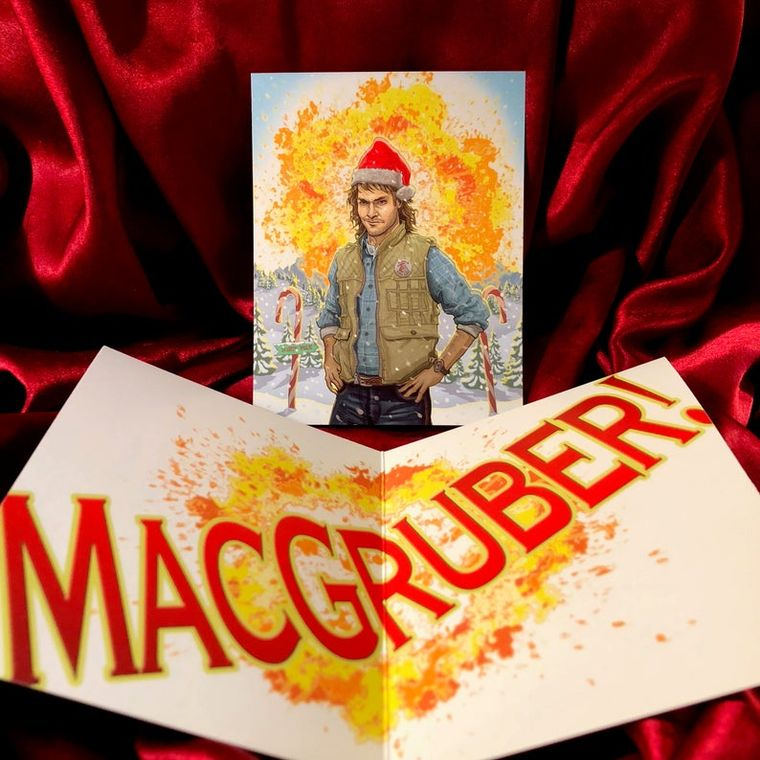 MACGRUBER Christmas Card