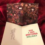Cantina Scene Xmas Party STAR WARS Christmas Card