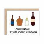 Bottles Card