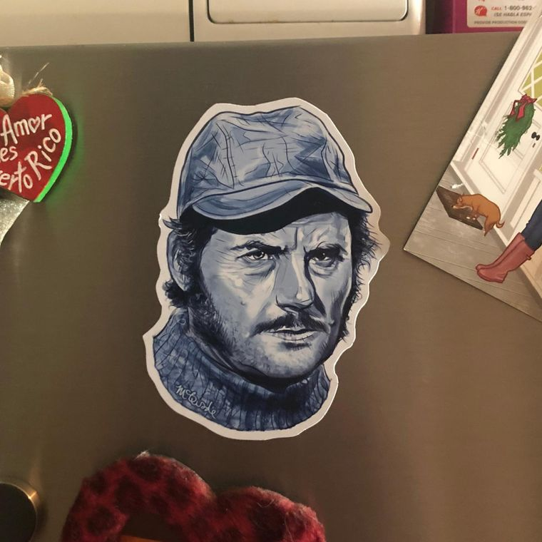 Quint JAWS Fridge Magnet
