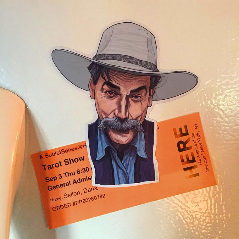 Sam Elliot THE BIG LEBOWSKI Fridge Magnet