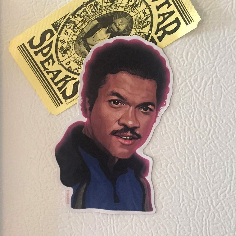 Lando Calrissian STAR WARS Fridge Magnet