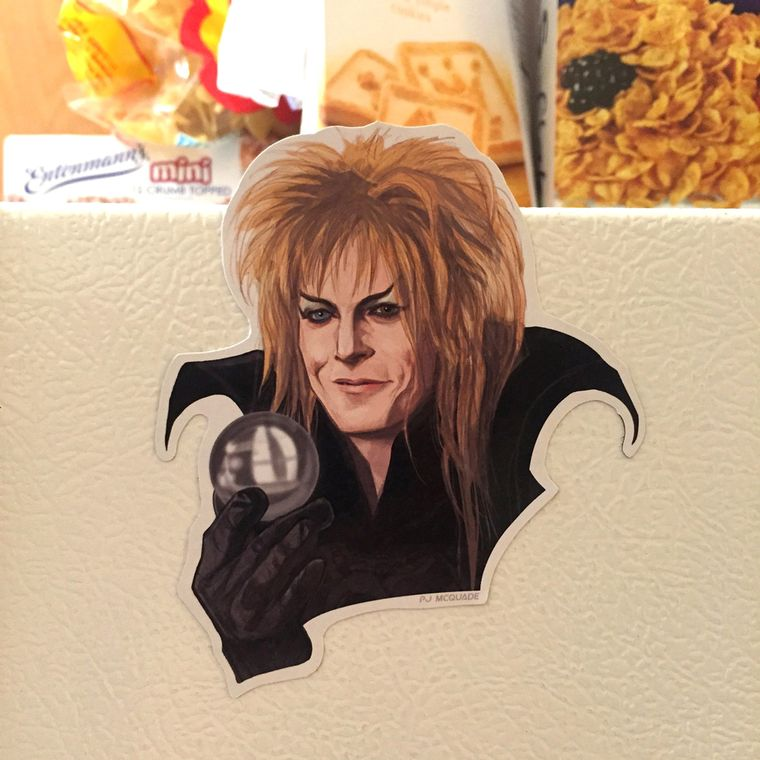 Jareth LABYRINTH Fridge Magnet