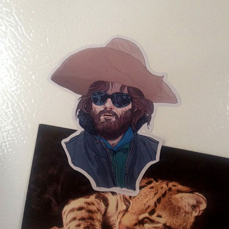 RJ MacReady THE THING Fridge Magnet