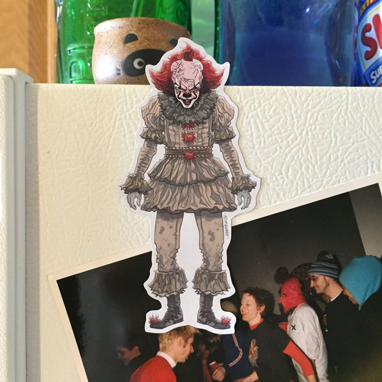 Pennywise IT 2017 Fridge Magnet