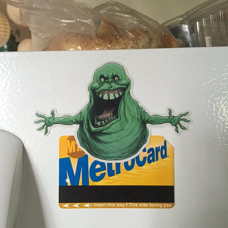 Slimer GHOSTBUSTERS Fridge Magnet