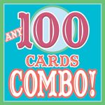 ANY 100 CARDS Discount COMBO