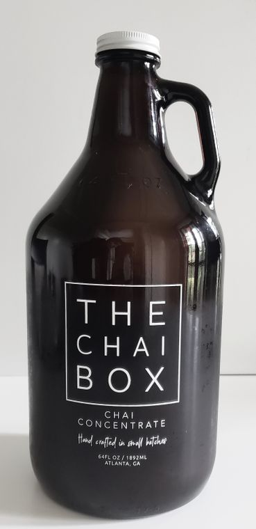 CHAI CONCENTRATE 1/2 Gallon Growler [Available in Eco-friendly plastic bottles for shipping]
