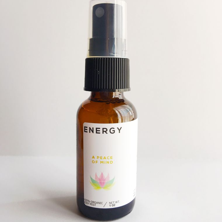 INTENTION - All Natural Handmade Essential Oil Meditation/Body Mists