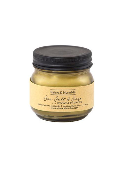 Candle  Sea Salt Sage 6.5oz