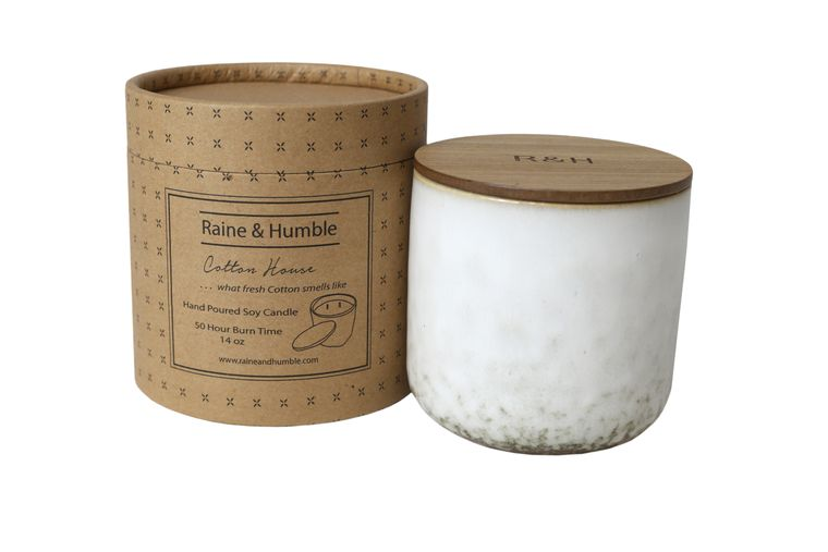 Candle Cotton House 14oz